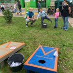 В Люберцах учились раздельному сбору с помощью необычной игры ЭкоКорнХол